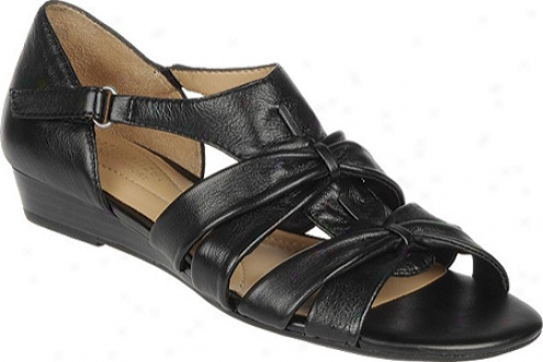 Naturalizer Joslin (women's) - Black Leather Soft Nappa Leather