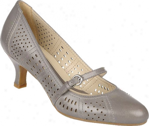 Naturalizer Merina (women's) - Smoked Violet Perfed Venice Leather