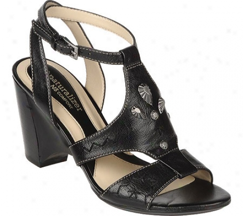 Naturalizer Merry (women's) - Black Fellini Leather
