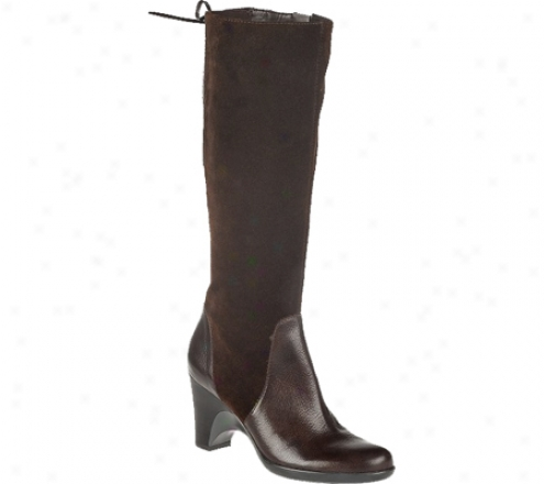 Naturalizer Milano (women's) - Oxford Brown Suede/oil Velour Suede