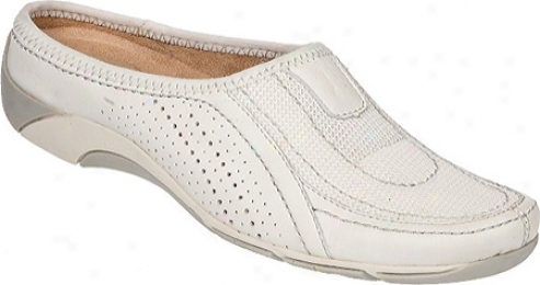 Naturalizer Yaro (women's) - White Basto Leather/mesh