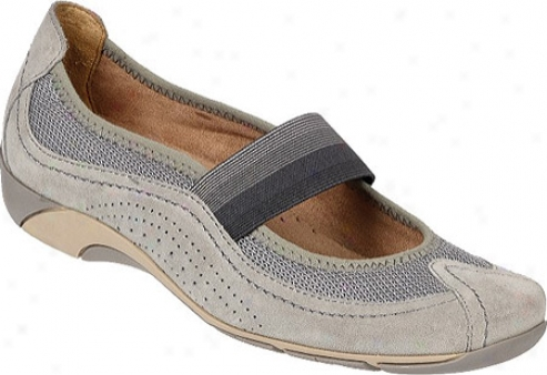Naturalizer Yates (women's) - Stoney Delight Brushed Velour Suede Leathre/mesh