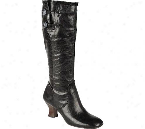 Naya Dalia (women's) - Murky Fellini Leather/kid Suede Leather