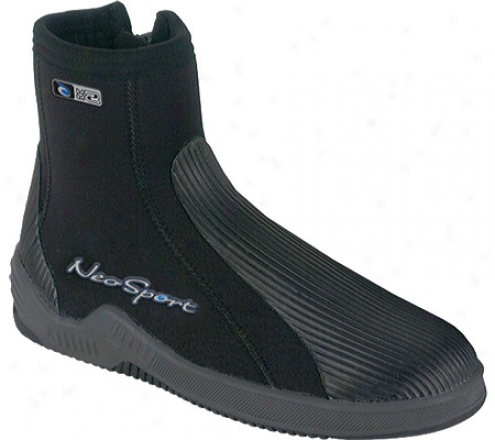 Neosport Wetsuits 5mm Hard Sole Boot - Black