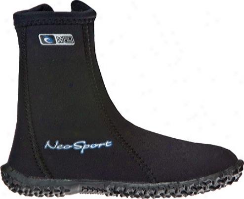 Neosport Wetsuits 5mm Hu-top Boot (infants') - Black