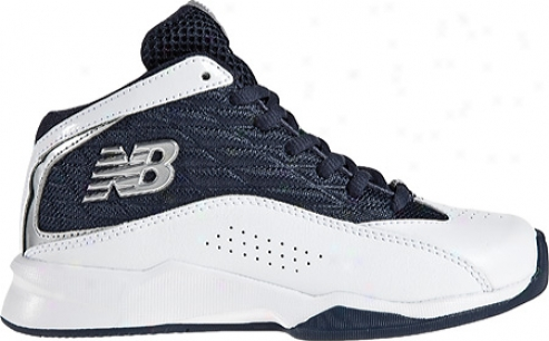 New Be in equipoise  Kb907 (boys') - White/navy