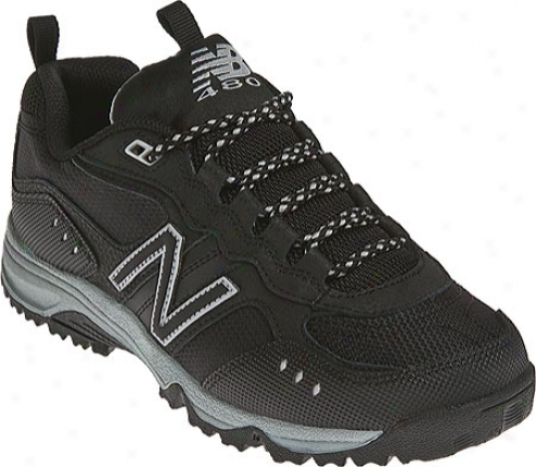 New Balance Kj480 (boys') - Black/silver