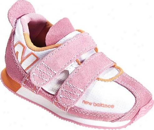 New Balance Kv90 (infants') - White/pink