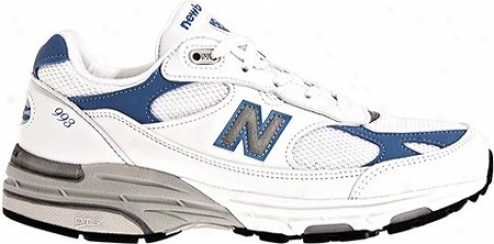 New Balancd Wr993 (women's) - White/blue