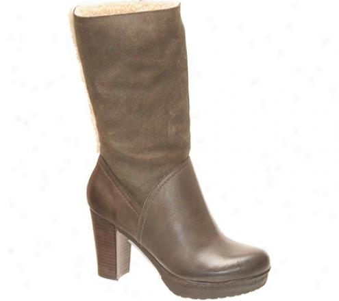 Nicole Acute (women's) - Grey Tin Leather