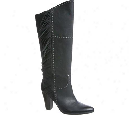 Nicole Agelese (women's) - Black Leather