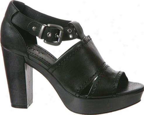 Nicole Curious (womej's) - Black Leather