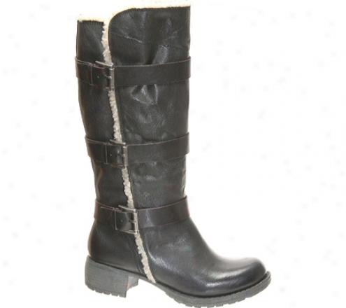 Nicole Juggle (women's) - Blacl Leather