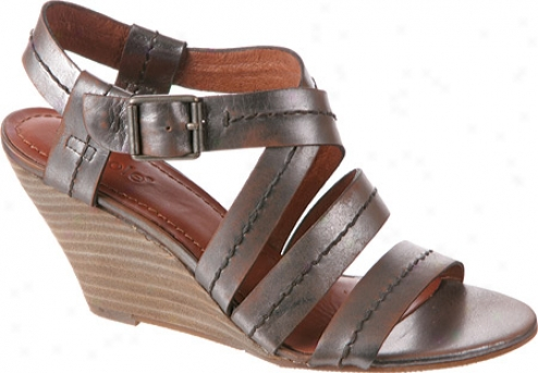 Nicole Twitdh (women's) - Pewter Leather