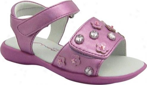 Nina Be Happy (infant Girls') - Bright Pink Metallic Paralyzee
