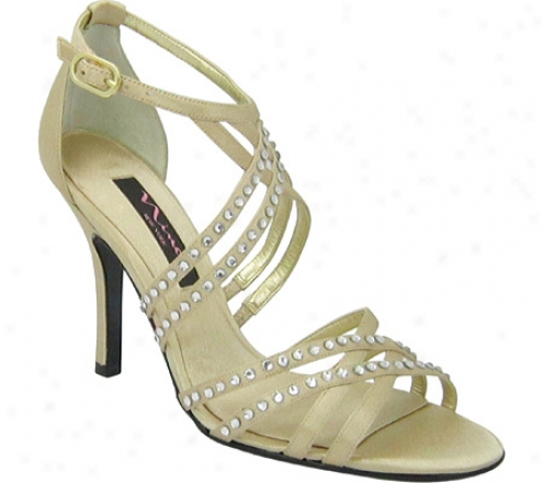 Nina Crysten (women's) - Gold Satin