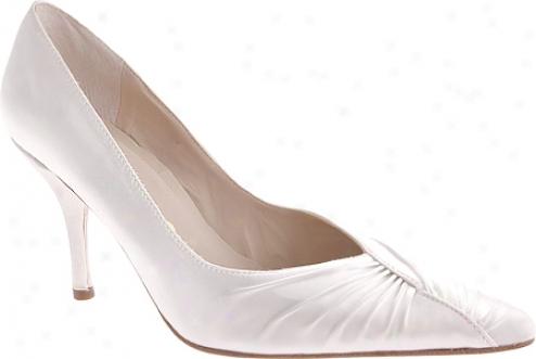 Nina Sorbet (women's) - White Dyeable Satin