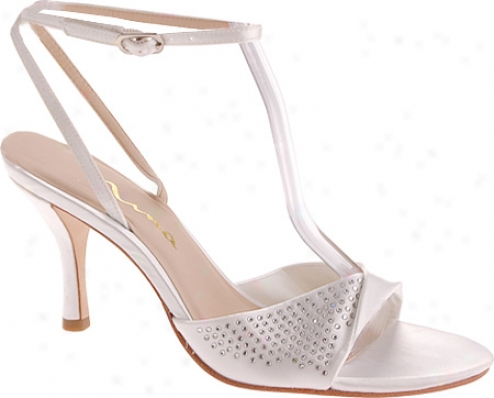 Nina Vianca (women's) - White Dyeable Satin