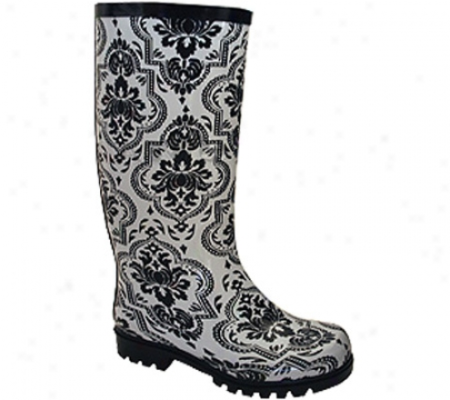 Nomad Puddles Ii (women's) - White/black Floral