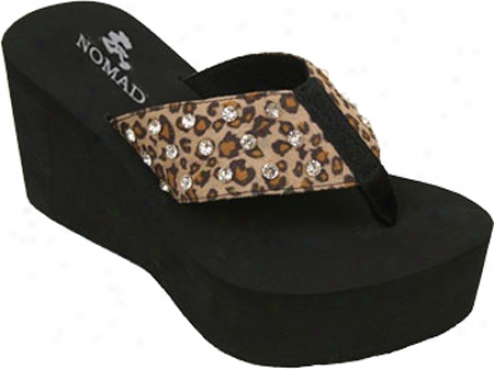 Nomad Samba (women's) - Brown Leopard