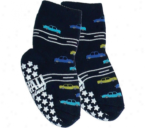 Nowali Traffic Slipper (2 Pairs) (infant Boys') - Navy