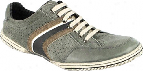 Nunn Bush Coby (men's) - Grey Multi Suede/smooth Leather