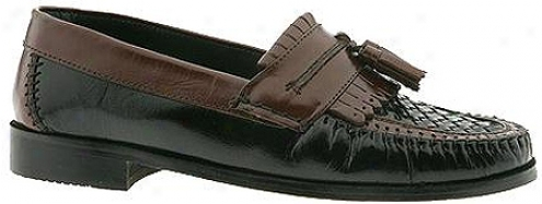 Nunn Bush Dawson (men's) - Black/cognac Buffalo
