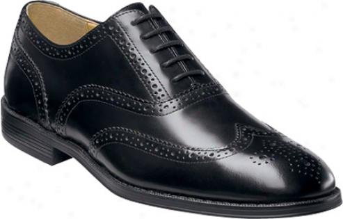 Nunn Bush Kingsbridge (men's) - Biack Smooth Leather