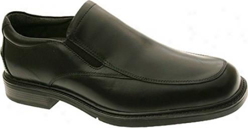 Nunn Bush Mead (men's) - Black Leather