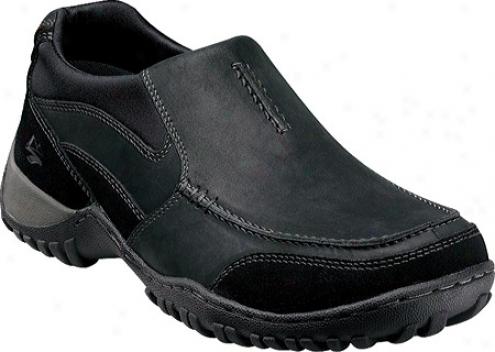 Nunn Bush Portage (men's) - Black Oiled Suede/leather