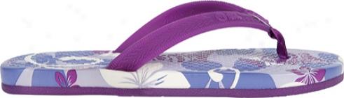 Ocean Minded Trope Meilani (girls') - Purple