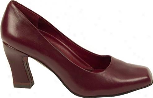 Oh! Shoes Azzura (women's) - Dark Red Soft Nappa