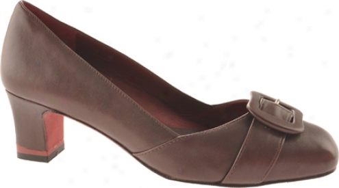 Oh! Shoes Mambo (women's) - Dark Brown Nappa