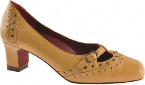 Oh! Shoes Maroni (women's) - Mustard Silky Nappa