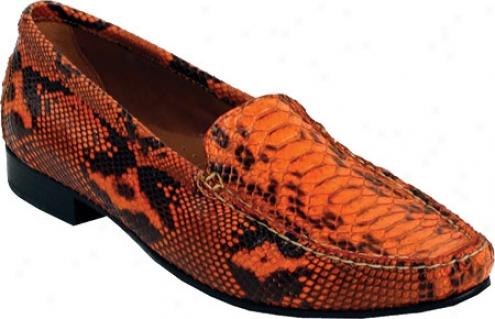 Old Gringo Python Moccasin (women's) - Orange