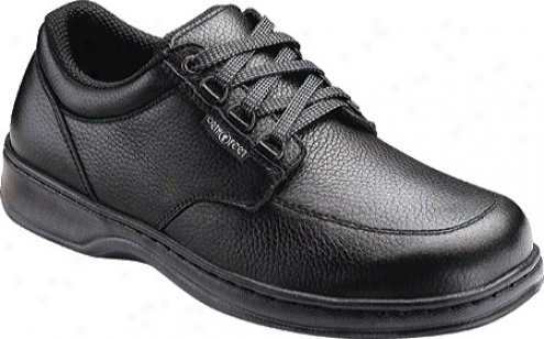 Orthofeet 4110 (men's) - Black Leather