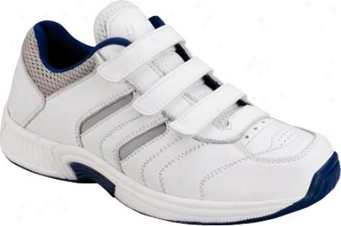 Orthofeet 650 (men's) - White Leather