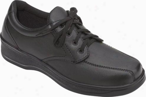 Orthofeet 701 (women's) - Black Leather