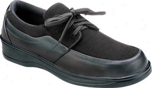 Orthofeet 715 (women's) - Black Leather/suede