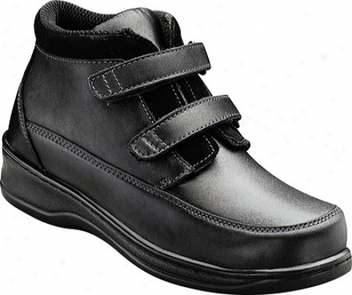 Orthofeet 881 (women's) - Black Leather