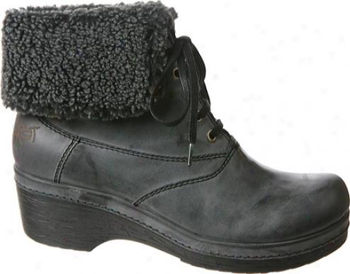 Otbt Bangor (women's) - Charcoal Leather