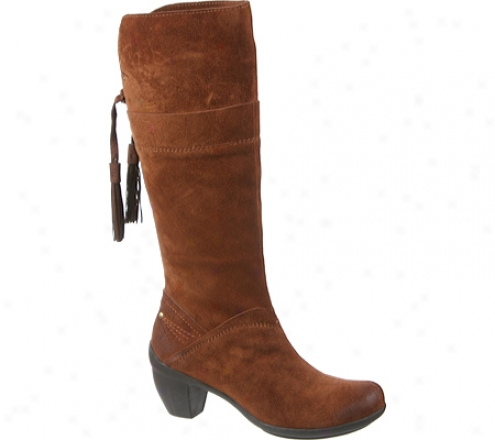 Otbt Elyria (women's) - Medium Brown Suede
