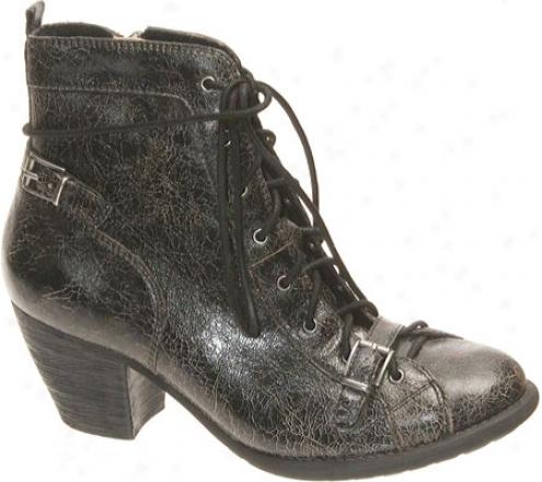 Otbt Floyd (women's) - Black Leather