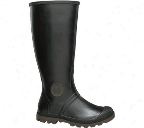 Palladium Pampa Rain 92753 (women's) - Black/dark Gum