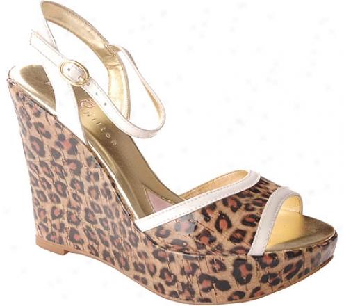 Paris Hilton Icon (women's) - White Patent/cheetah