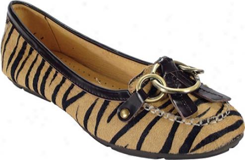 Peace Mocs Mary (women's) - Zebra