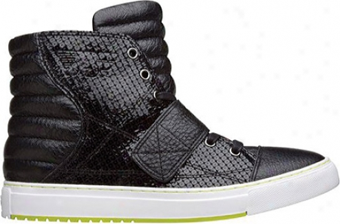 Pf Flyers Astor Sequin - Negro Printed Leather