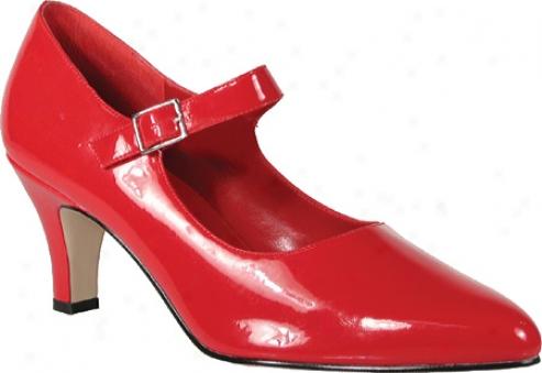 Pleaser Divine 440 (women's) - Red Patent