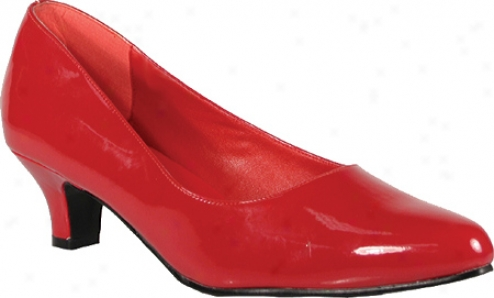 Pleaser Fab 420w (women's) - Red Patent