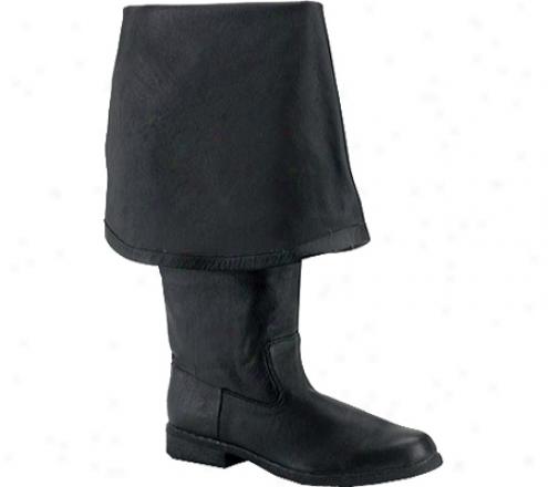 Pleaser Maverick 2045 (men's) - Black Leather